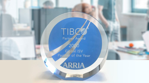 Arria NLG, a world leader in natural language technologies, has been named TIBCO's Global Independent Software Vendor (ISV) Partner of the Year.