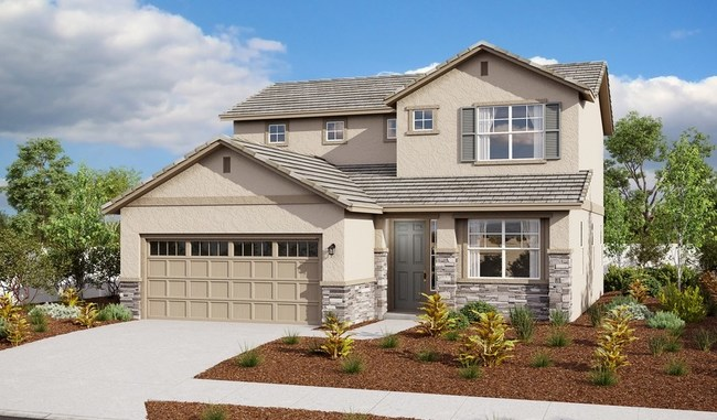 The Arnold plan is one of four new model homes at Richmond American's Woodberry at Bradshaw Crossing community in Sacramento, CA.