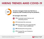 Survey: More Than Half Of Companies Hired New Staff Remotely During The Pandemic