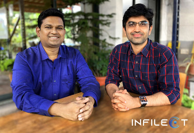 Infilect founders. Anand Prabhu Subramanian (left), Vijay Gabale (right)