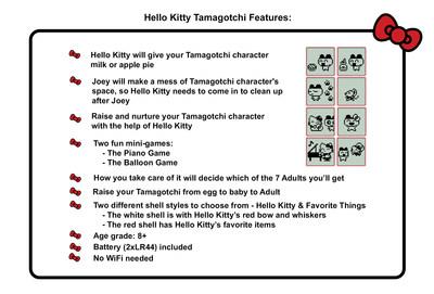 Hello Kitty Tamagotchi Features (CNW Group/Bandai America)