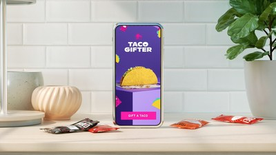 Taco Bell® launches its first-ever taco e-gifting service to kick off National Taco Day festivities - perfect for any occasion or no occasion at all. Taco Bell is giving away a free taco to gift for the first 10,000 people who use Taco Gifter. Since tacos are a perfect gift for any occasion, the brand is also making unwrapping deliciousness extra special with a seasonal gift wrap that will adorn all Taco Bell crunchy tacos for a limited time and while supplies last.