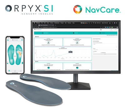 Orpyx® SI Sensory Insoles & NavCare RPM