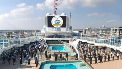 Enchanted Princess Officially Joins Princess Cruises Fleet (PRNewsfoto/Princess Cruises)