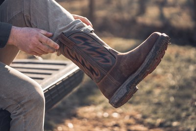 The new RIO FLEX pull-on work from Red Wing Shoes is purpose-built for the most demanding jobs in difficult terrain to ensure today's workers can tackle the projects of the future safely and comfortably.