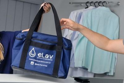 R - eLav Lavanderia expansão de franquias (PRNewsfoto/eLav Lavanderia)