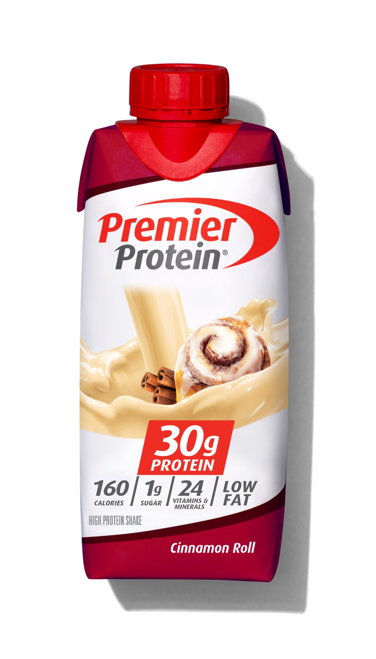 Premier Protein® Introduces NEW Cinnamon Roll Flavored Protein Shakes