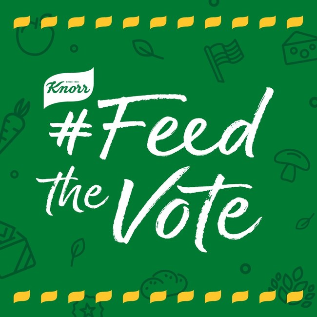 Visit Knorr.com/vote to find out how you can help #FeedTheVote and make sure access to nutritious food is an issue this election season.