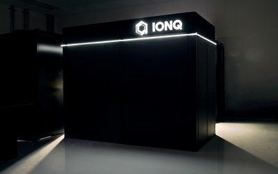 The outer enclosure for IonQ's next-generation system, which creates a highly stable environment (acoustics, temperature, humidity) for the system. Credit: Kai Hudek, IonQ