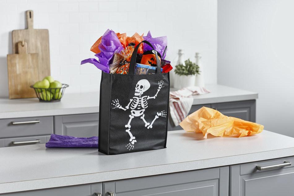 """Meijer offers everything a customer needs to put together a custom """"Boo Bag"""" for a friend or neighbor."""