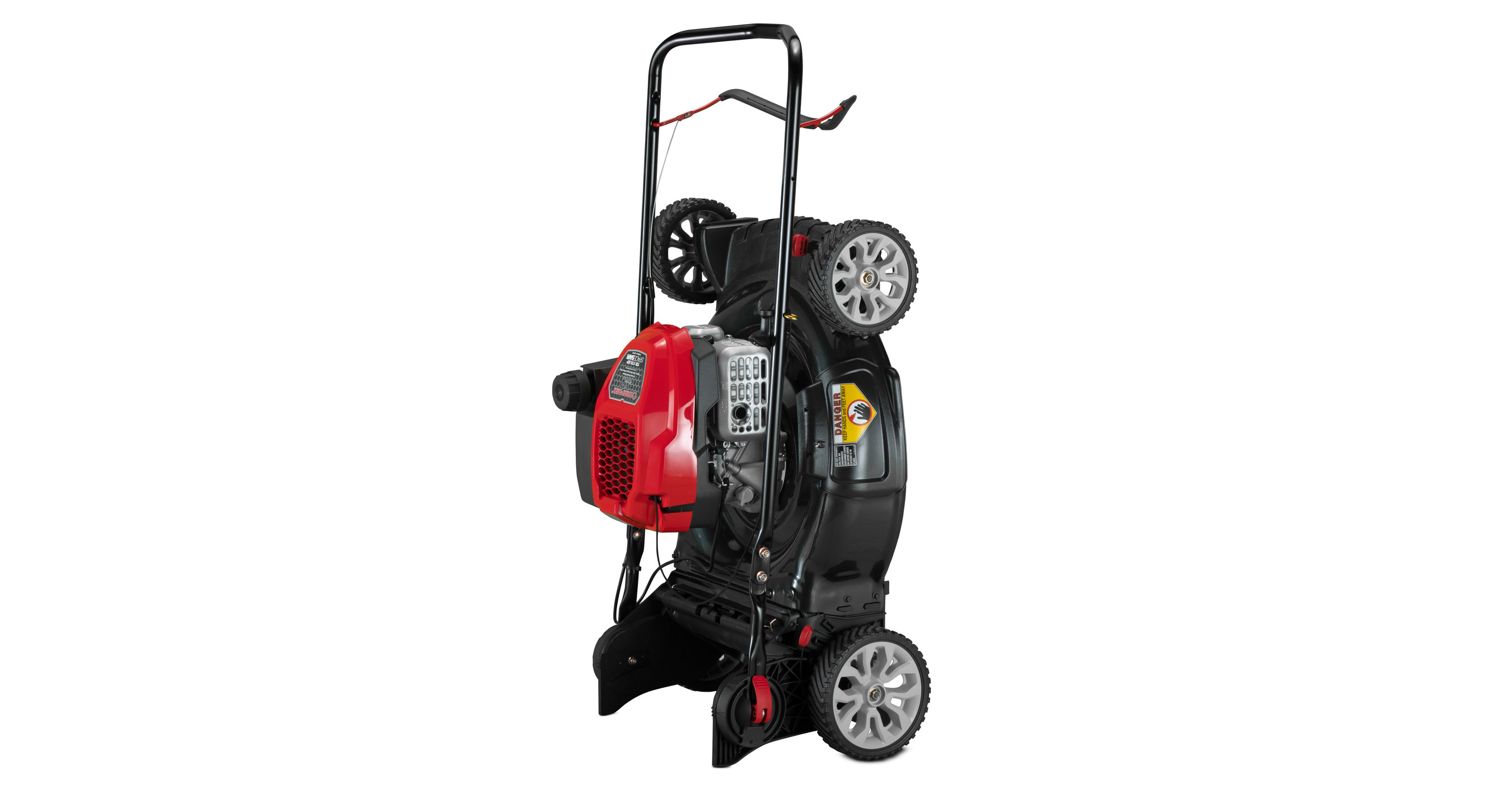 Troy-Bilt® SpaceSavr™ Mowers Deliver Performance In A Space-Saving Design