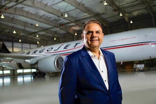 Cargojet President & CEO Dr. Ajay K. Virmani Named Strategist of the Year and One of Canada's Top CEO's of Year by Globe and Mail's Report on Business (CNW Group/Cargojet Inc.)