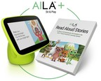 Award-Winning AILA Sit & Play™ Virtual Preschool Learning System Now Includes Read Aloud Stories