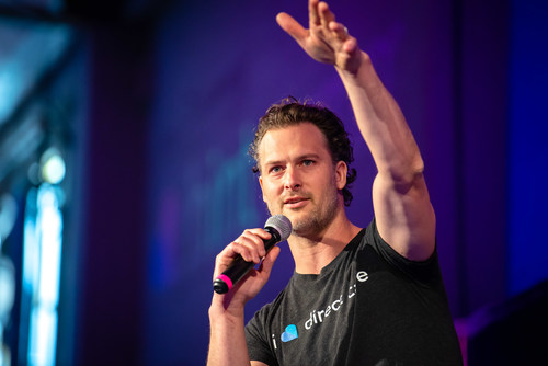 Zak Holdsworth, Co-founder & CEO of Hint Health, speaks at the 2019 Hint Summit