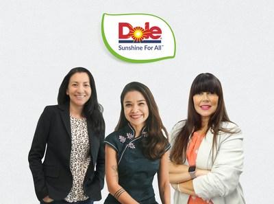 Imagem (L-R): Kimberly Galante, Peewee Dizon e Dr Lara Ramdin
