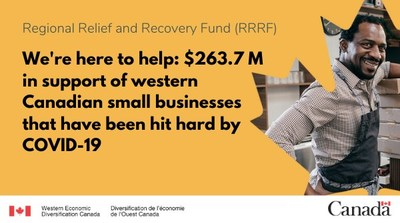 We're here to help (CNW Group/Western Economic Diversification Canada)