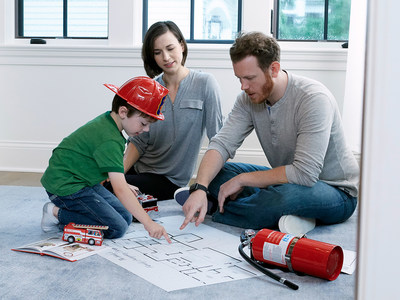 Involve everyone in your household when developing an emergency escape plan.