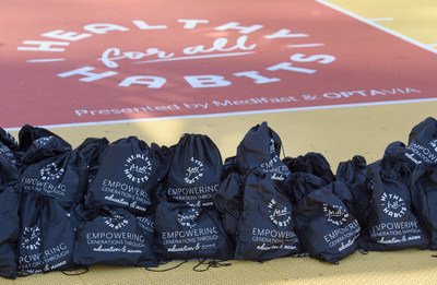Items from the bags will be used to lead activities that promote the habits of a healthy mind