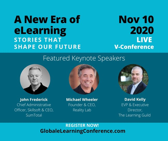 The Keynote Speakers Announced for this event include 3 industry experts to share stories, best practices, and the latest technology for Global Businesses and the Learning & Development industries.