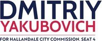 Dmitriy wants to improve the quality of life in Hallandale Beach if elected by Prioritizing Fiscal Responsibility, Public Safety, Condo Reform for Condo Owners, and Infrastructure.