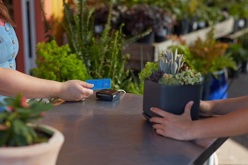 The Venmo Credit Card comes equipped with an RFID-enabled chip, so customers can tap to pay at the point-of-sale.