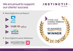 Instinctif Partners' clients dominate MEIRA's digital award categories with prizes to Mobily, SABB, Almarai and Habib Medical Group