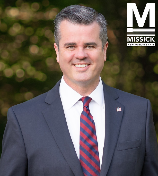 Christopher Missick, Candidate for New York State Senate