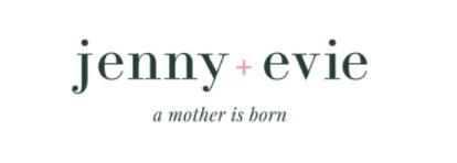 Jenny + Evie Logo