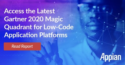 Appian Named a Leader in Gartner's 2020 Magic Quadrant for Enterprise Low-Code Application Platforms