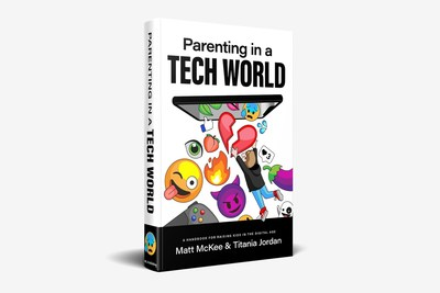 "Parenting in a Tech World book helps parents navigate ""Tech All Day, Every Day."""