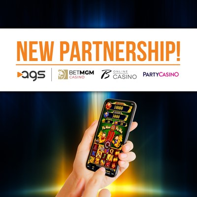 AGS partners with BetMGM to provide game content for U.S. real money gaming on BetMGM, Borgata, and partypoker online casinos.