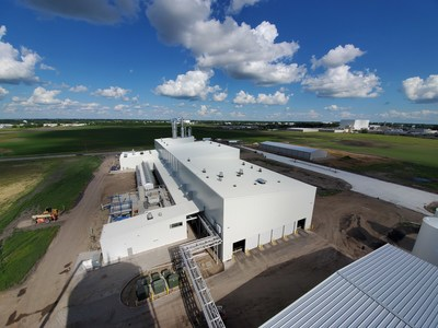 The Red River Biorefinery in Grand Forks, North Dakota, uses excess agricultural byproducts as a feedstock to produce pharmaceutical-grade (USP) ethanol for hand sanitizers and disinfectants.