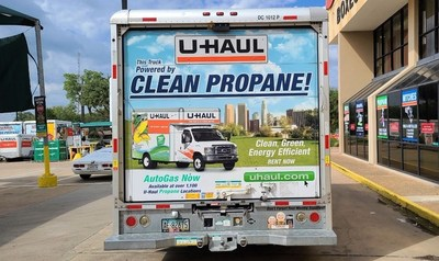 U-Haul has purchased its first million gallons of renewable propane, which is now available to customers at the Company's autogas facilities across Southern California.