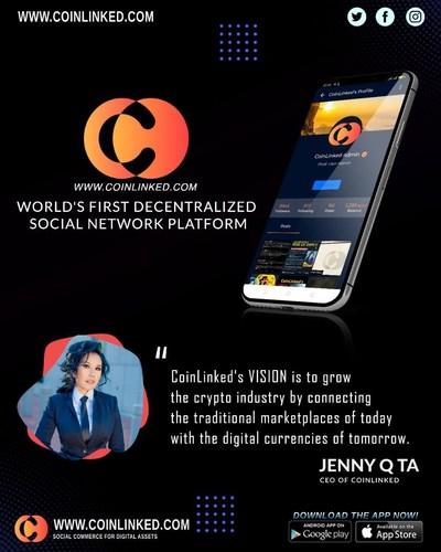 World's first decentralized social commerce platform.