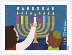 New Hanukkah Stamp Now Available