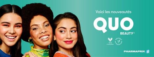 Pharmaprix dévoile la nouvelle collection de la marque Quo Beauty, le plus grand lancement de produits de beauté jamais réalisé par la compagnie, avec plus de 1 000 produits sans cruauté offerts en magasin et en ligne. (Groupe CNW/Shoppers Drug Mart)