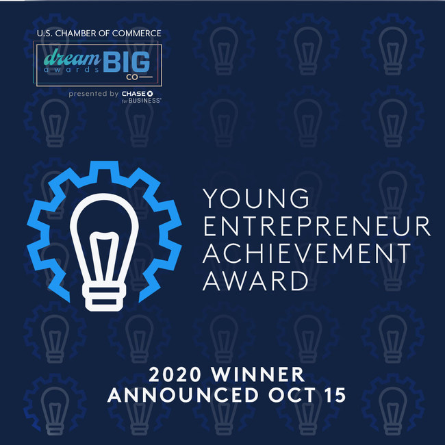 U.S. Chamber of Commerce - Young Entrepreneur Achievement Award Finalist