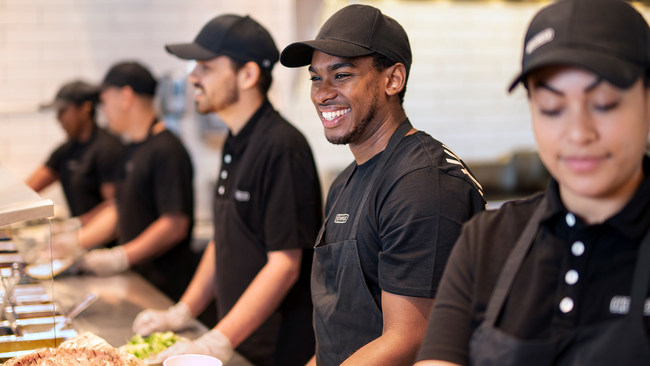 Chipotle is expanding its Debt-Free degree program to include Paul Quinn College, the nation's first urban work college and one of the oldest Historically Black Colleges and Universities (HBCU) in the country. Chipotle covers 100% of tuition costs up front for over 75 different types of business and technology degrees for eligible employees, including crew members, through its partnership with Guild Education, the leading education benefits company in the country.