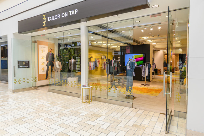 Tailor on Tap is located in Tysons Corner Center, Level 1 between Arhaus and Seasons 52.