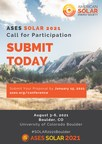 Submit your Proposal to the 50th Annual National Solar Conference