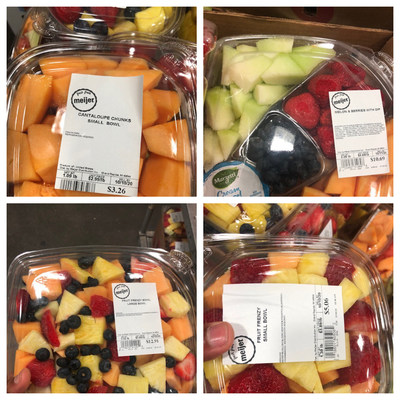 Meijer, in conjunction with Eagle Produce, LLC in Aguila, AZ., is announcing a voluntary recall of whole cantaloupe and select cut cantaloupe fruit trays and bowls. The recall is part of a sampling investigation by the Michigan Department of Agriculture and Rural Development and is due to the potential risk of Salmonella.  The multi-state recall involves whole cantaloupe and select cut cantaloupe fruit trays and bowls in various weights sold between Sept. 26 and Oct. 5 of this year.
