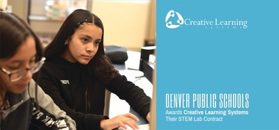 Denver Public Schools awards Creative Learning Systems their STEM Lab Contract