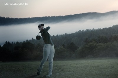 LG SIGNATURE Brand Ambassador, Park Sung-hyun has an instantly-recognizable swing that combines power and artistic grace in equal measure.