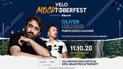 "VELO Hosts ""Mocktoberfest"" McLaren Racing's Official Eifel Grand Prix Afterparty Headlined By Oliver Heldens"