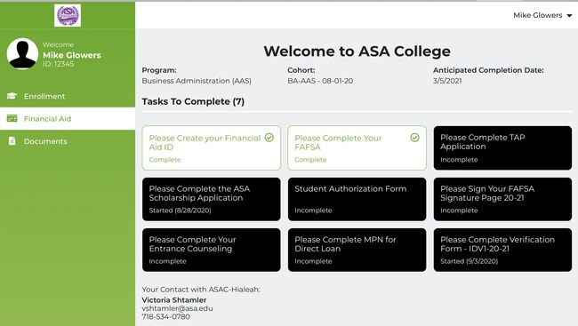 Conext offers guided workflows for students, faculty and graduates that simplify complex processes.