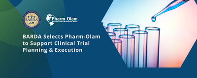 BARDA selects Pharm-Olam for Clinical Trial Planning & Execution services in support of new medical countermeasure research in the fight against emerging infectious disease.