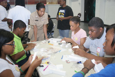 STEM NOLA Saturday STEM Session with Navy Officer Oversight