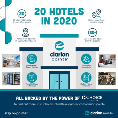 Clarion Pointe: 20 Hotels in 2020