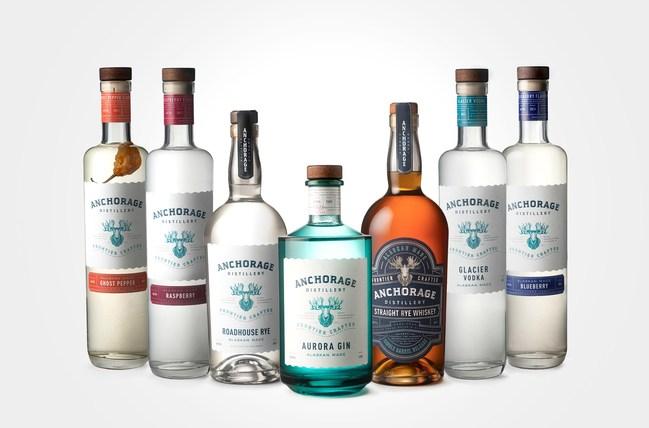 Anchorage Distillery, Spirits Lineup