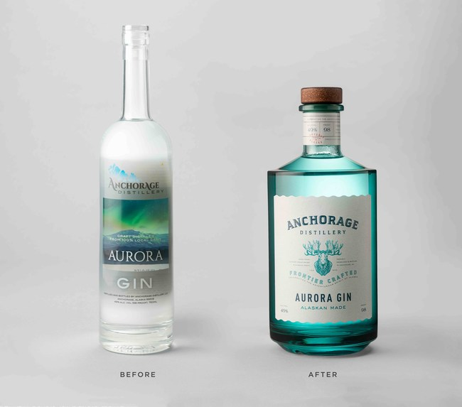 Aurora Gin, Before & After